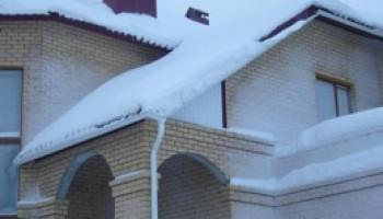 Укладка Катепала зимой